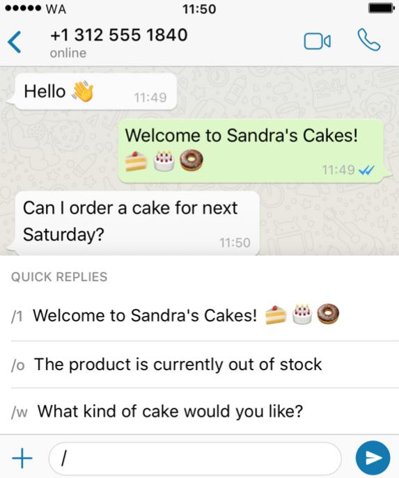 WhatsApp Marketing klantenservice