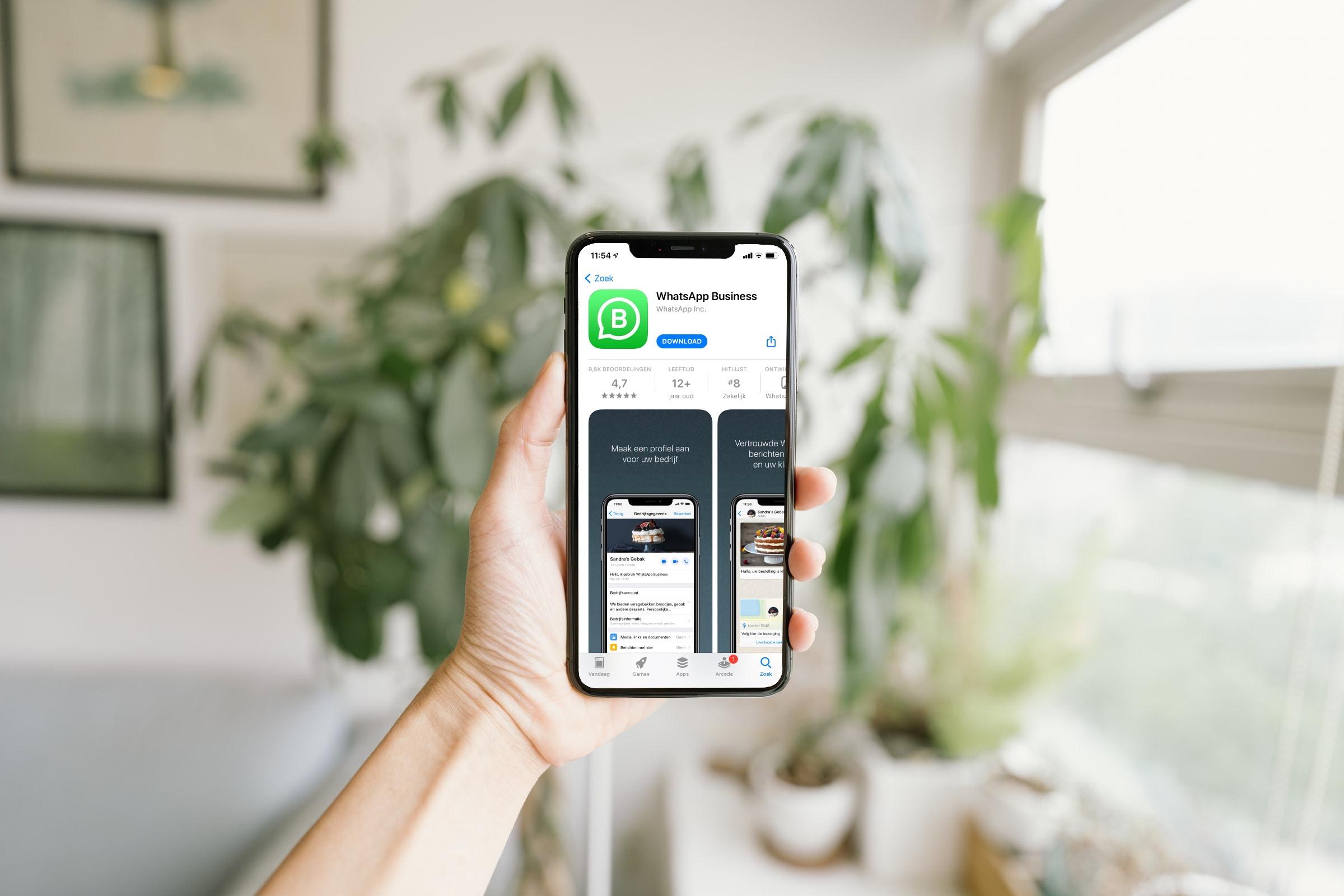 WhatsApp contact met websitebezoekers