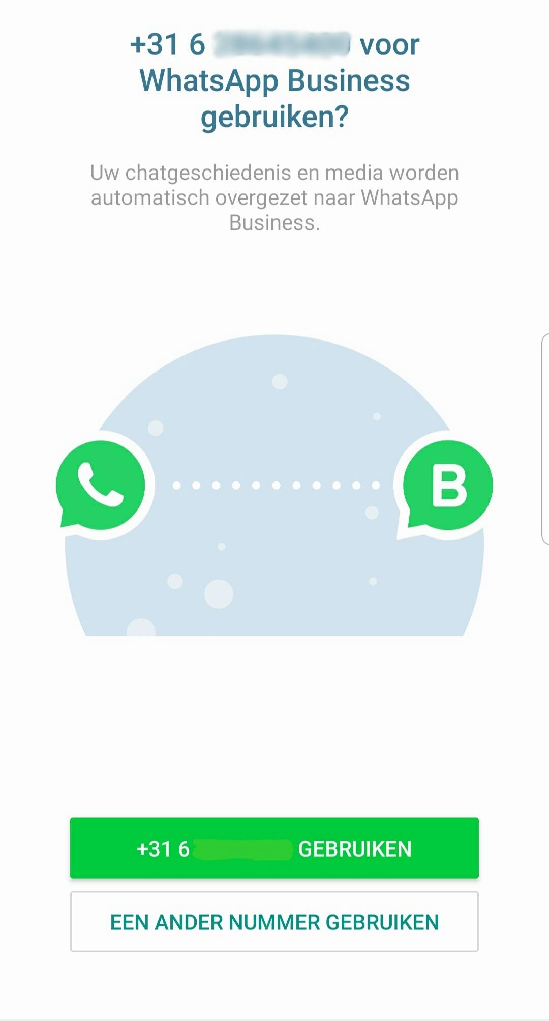 Whatsapp business verifieren